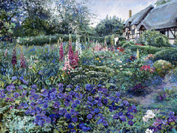 Anne Hathaway's Cottage. Click here to see enlargement. © Ruth Mayer Fine Art.