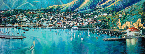 Catalina. Click here to see enlargement. © Ruth Mayer Fine Art.