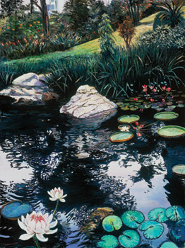 Hong Kong Park. Click here to see enlargement. © Ruth Mayer Fine Art.
