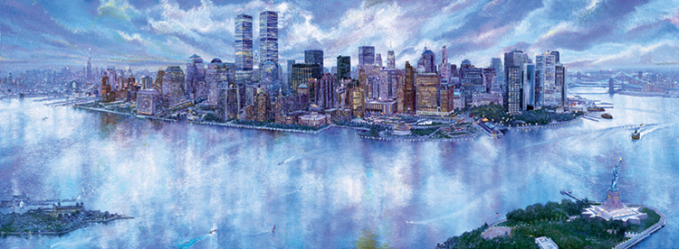 I Love New York. Click here to see enlargement. © Ruth Mayer Fine Art Inc.