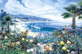 Laguna Rose. Click here to see enlargement. © Ruth Mayer Fine Art.