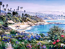 Laguna Spring. Click here to see enlargement. © Ruth Mayer Fine Art.